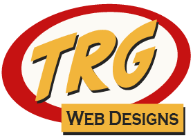 Image of new narrow TRG Web Designs Logo