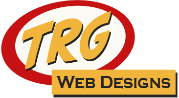 Image of new wide TRG Web Designs Logo