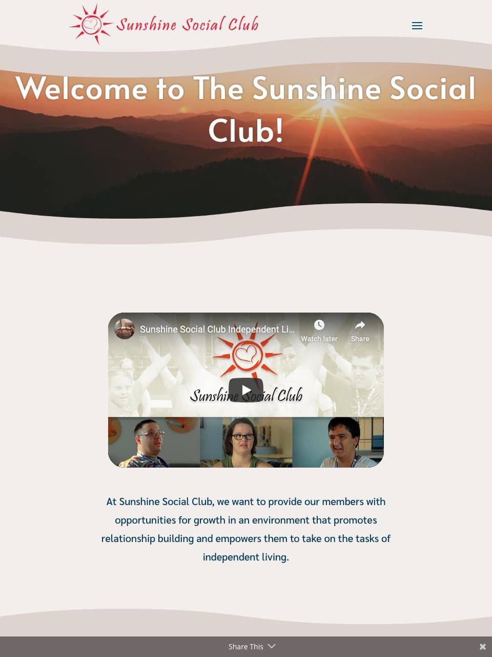 Image of website on tablet