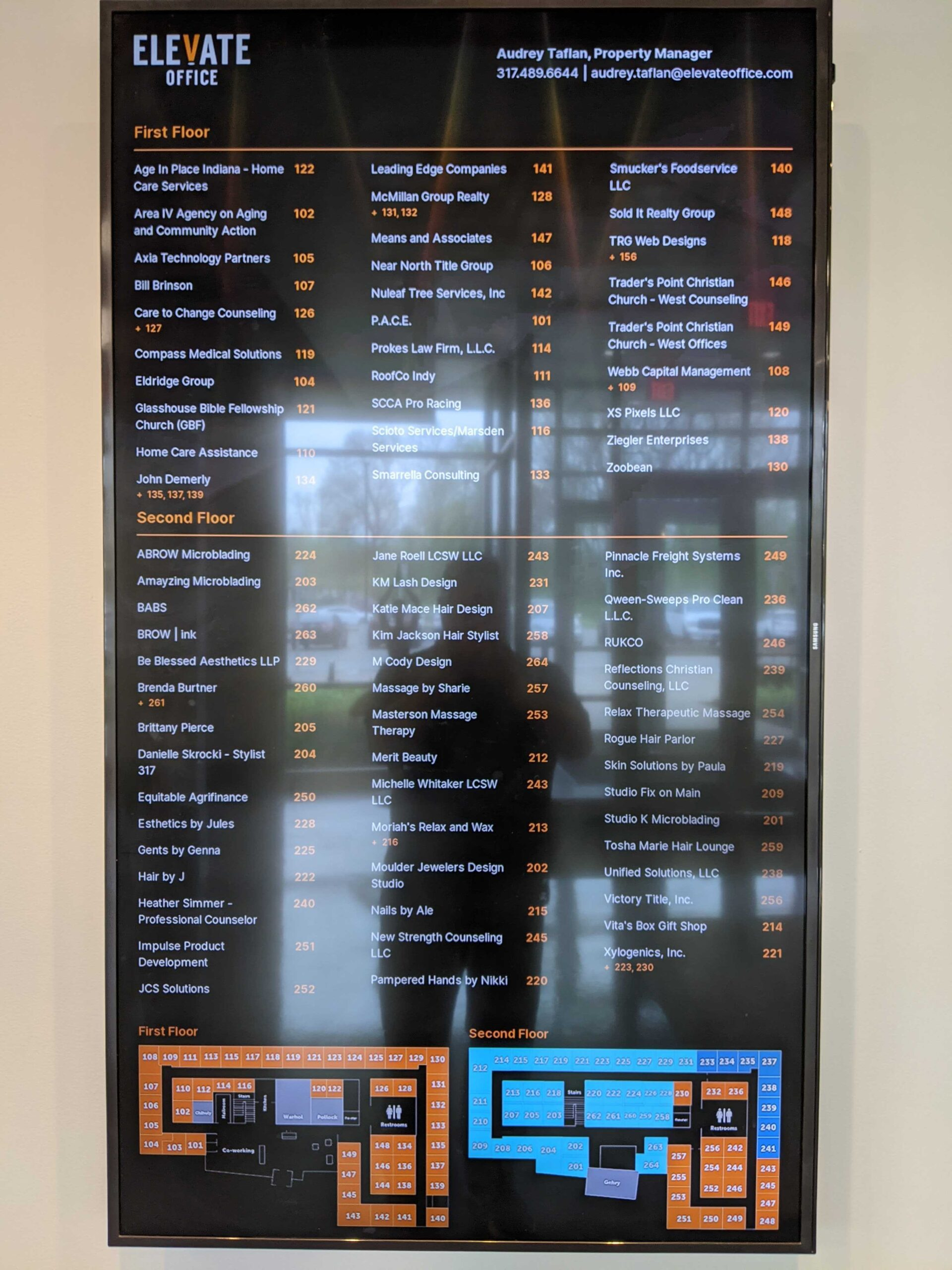 Elevate Office Building Directory