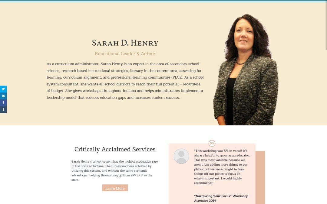 Sarah D. Henry